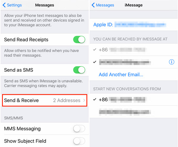 iPhone Messages not Syncing with Mac