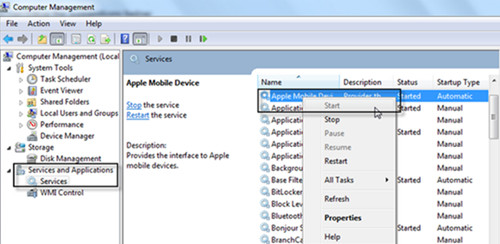 start-apple-mobile-device-service
