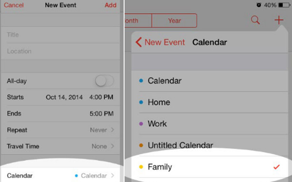 Share Calendar Events With Others On Your Iphone