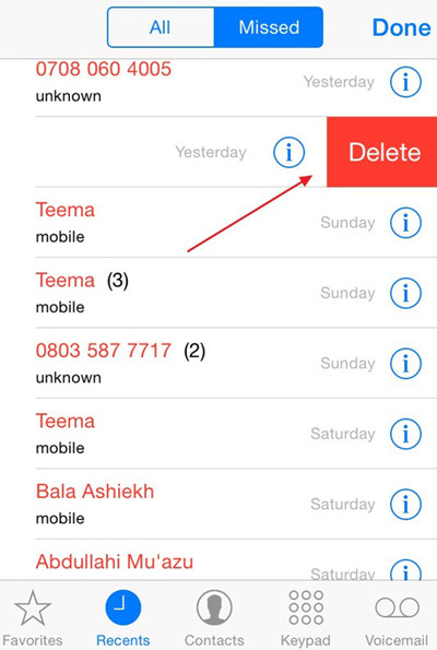 delete-call-history-on-iphone
