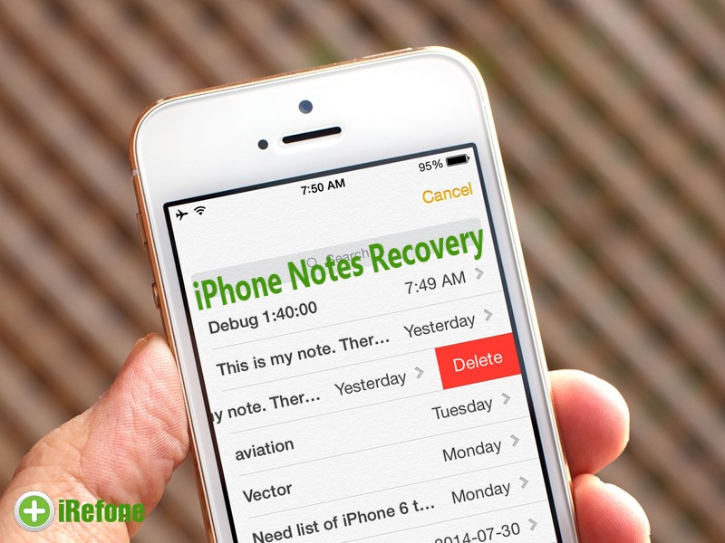 3 Ways to Recover Deleted Notes from iPhone on Mac & Windows