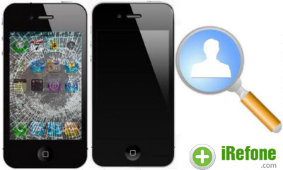 How to Recover Contacts from Dropped/Broken iPhone