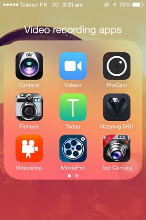 Top 5 Best iPhone Video Recording Apps
