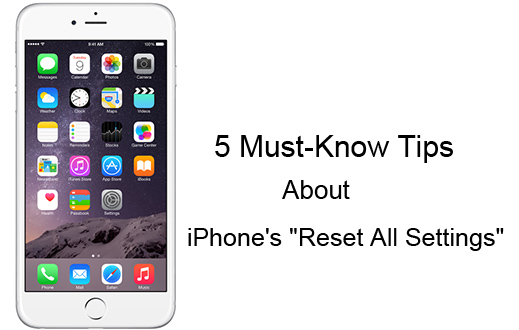 5 Must-Know Tips About iPhone's