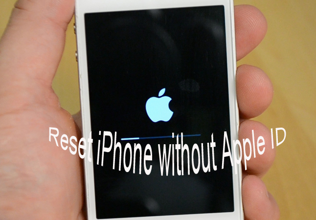 How to Factory Reset iPhone without Apple ID