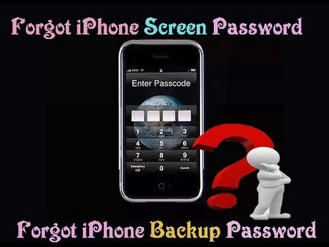 Complete List of How to Reset iPhone Password