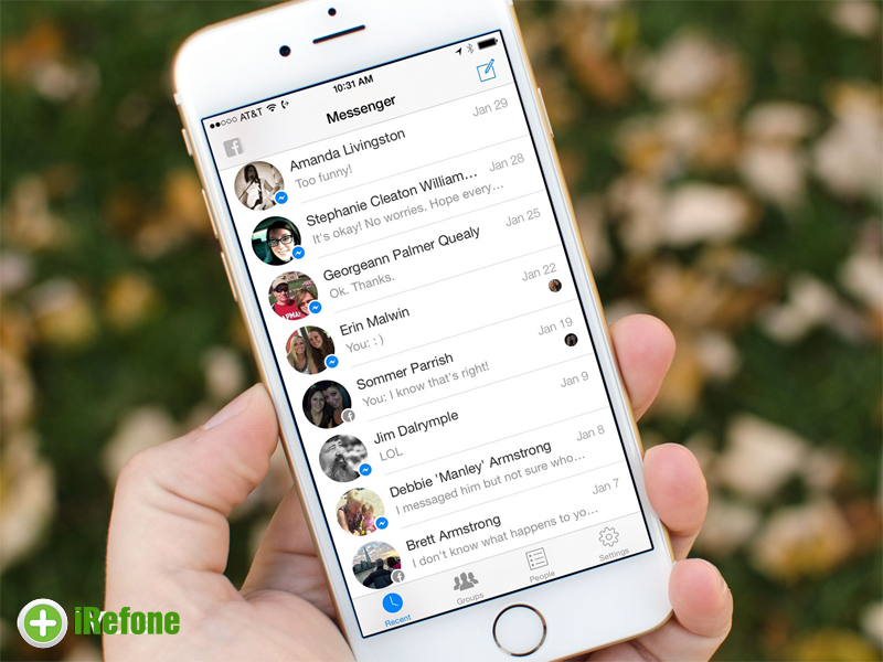 How to Delete Facebook Messages from Messenger on iPhone/iPad