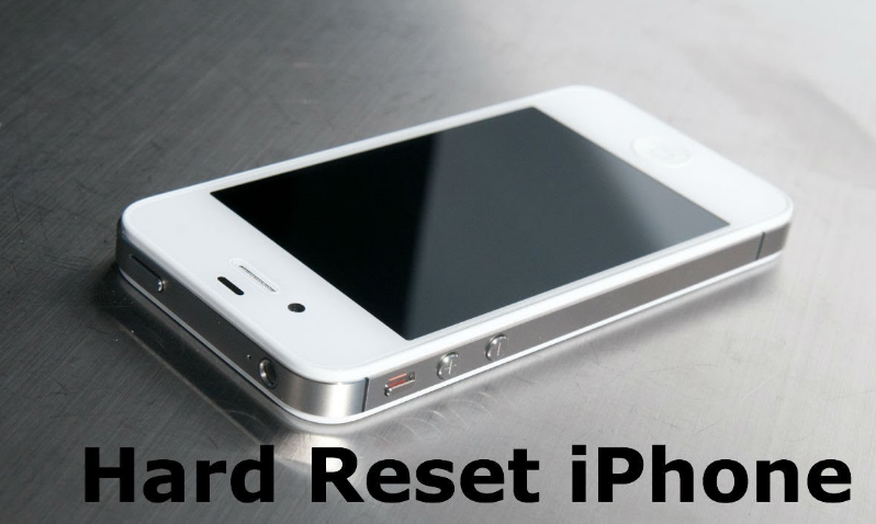 Hard Reset An iPhone Without Using A Computer