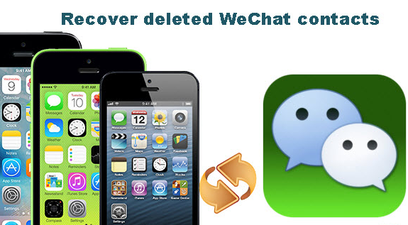 Recover Deleted WeChat Contacts on iPhone