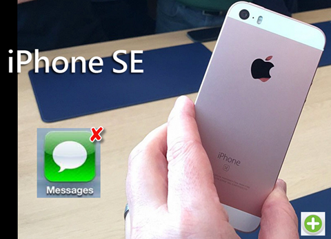 Retrieve Deleted Text Messages Directly from iPhone SE