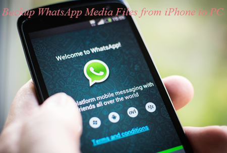 Backup Whatsapp Videos and Audios from iPhone to PC