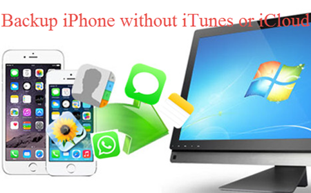Backup iPhone without iTunes or iCloud