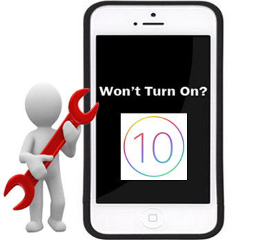 iPhone Won't Turn-on After iOS 10 Upgrade