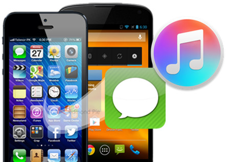 Selectively Transfer Messages from iTunes to iPhone