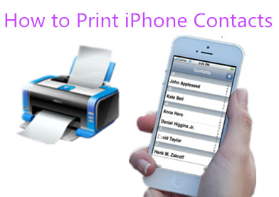 Ways to Print Contacts on iPhone