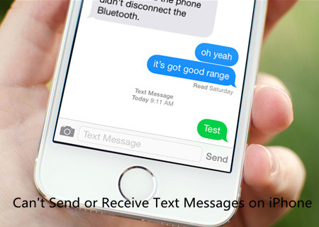 Fix Can't Send or Receive Text Messages on iPhone