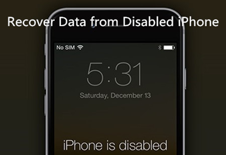 Possible Solution to Recover Data from Disabled iPhone