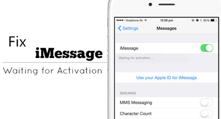 """How to Fix iMessages """"Waiting for Activation""""Error on iPhone"""