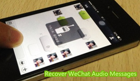 Recover WeChat Audio Messages from iPhone Backup