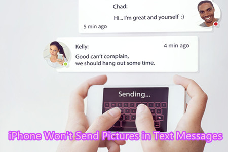 [Solved]iPhone Won't Send Pictures in Text Messages