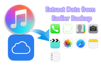 2 Ways to Extract iPhone/iPad Data from Earlier Backup