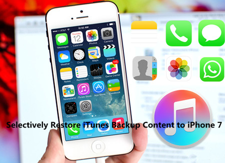 Tips to Selectively Restore iTunes Backup Content to iPhone 7