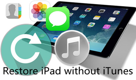 Methods to Restore iPad without iTunes