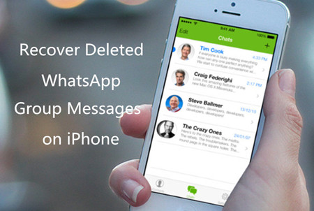 Possible Solution to Recover Deleted WhatsApp Group Messages on iPhone