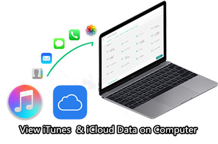 iPhone Backup Viewer: View iTunes & iCloud Data on Computer