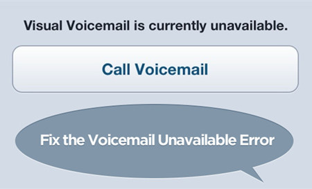 is currently unavailable voicemail