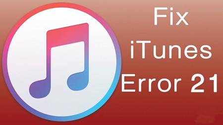 Solve iTunes/iPhone 21 Error While Restoring iPhone