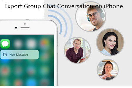 How to Export Group Chat Conversation on iPhone