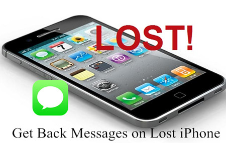 How to Get Back Messages on Lost iPhone