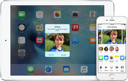 How to Share Photos Between iPhone with AirDrop
