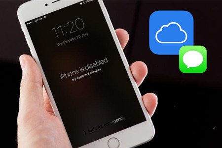 How to Retrieve Text Messages from iCloud If iPhone is Disabled