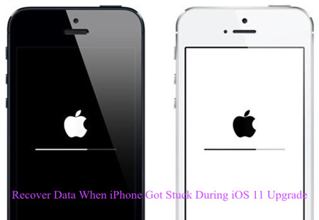 How to Recover Data When iPhone Got Stuck During iOS 11 Upgrade