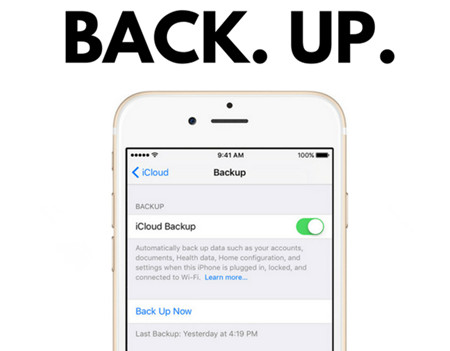 How to Back up iPhone Data if Menus Options on iTunes are Greyed Out