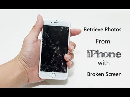 How to Retrieve Photos from iPhone with Non-working Broken Screen
