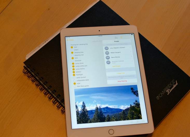 How to Recover Lost iPad Notes after Updating to iOS 11