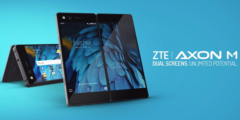 ZTE Corporation Release Foldable Phone Axon M
