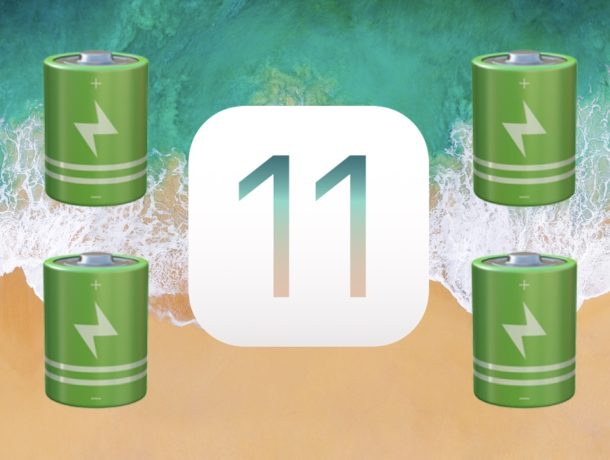 Solutions for Battery Drain Quickly with iOS 11