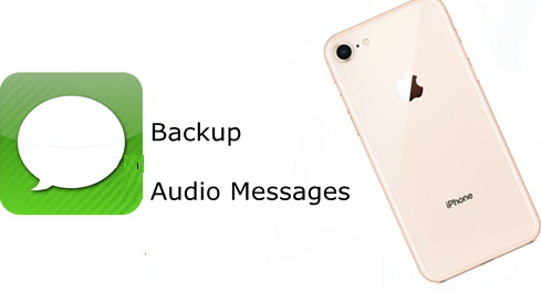 Backup Audio Messages on iPhone 8
