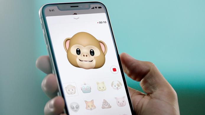 Send Animoji via iMessages on iPhone X