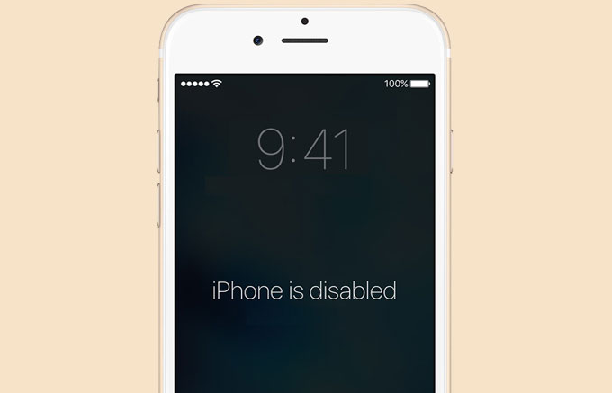 Fix Disabled iPhone without iTunes Backup