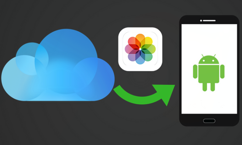 Restore iCloud Photos to Android Phone