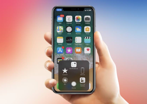 Set Virtual Home Button on iPhone X