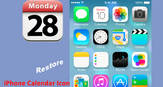 Calendar Icon Lost on iPhone, What to do?