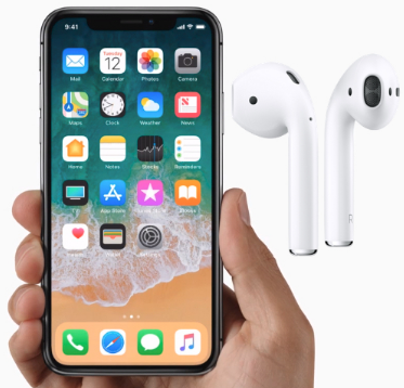 Set up Airpods on iPhone iPad