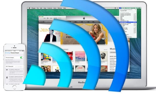 Share Wifi Connection from Mac to iPhone