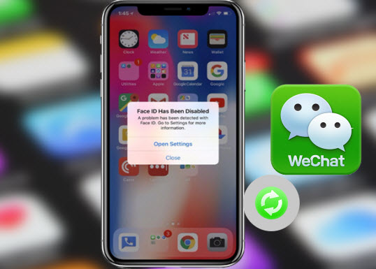 How to Recover WeChat Data from Disabled iPhone X